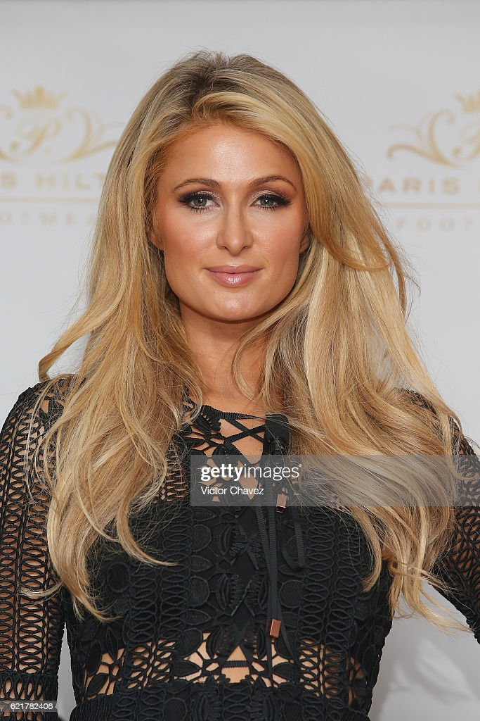 Paris Hilton Launches Her New Shoe Collection Spring/Summer 2017 : News Photo