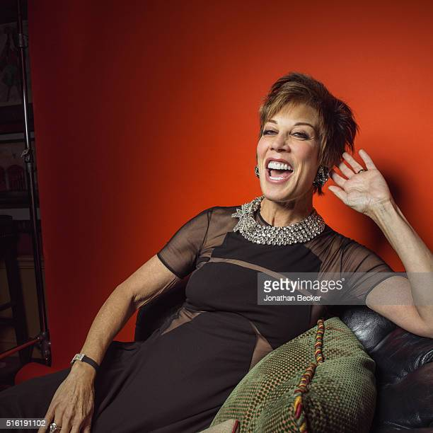 Businesswoman Peggy Siegal is photographed at the Charles Finch and Chanel's PreBAFTA on February 7 2015 in London England PUBLISHED IMAGE
