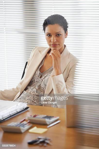 businesswoman - oliver eltinger stock-fotos und bilder