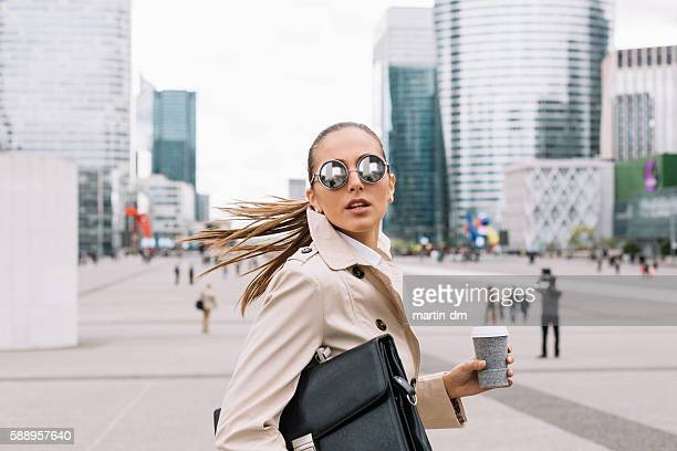 businesswoman - beat the clock stock photos and pictures