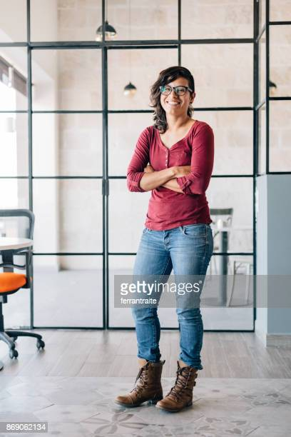 businesswoman portrait - androgynous stock pictures, royalty-free photos & images