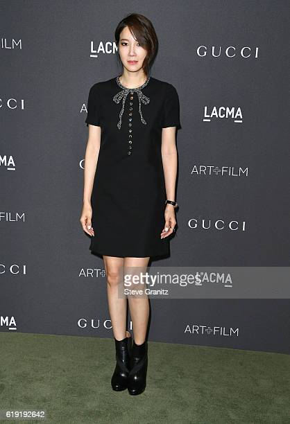 Businesswoman Seo Hyun Lee attends the 2016 LACMA Art Film Gala honoring Robert Irwin and Kathryn Bigelow presented by Gucci at LACMA on October 29...