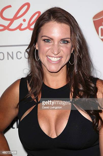 Businesswoman Stephanie McMahon attends the 2015 Sports Humanitarian of the Year Awards at the Conga Room at LA Live on July 14 2015 in Los Angeles...