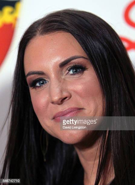 Businesswoman Stephanie McMahon attends the 2nd Annual Sports Humanitarian of the Year Awards at the Conga Room on July 12 2016 in Los Angeles...