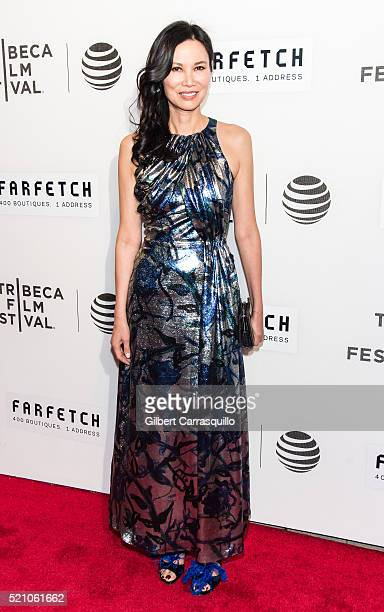 Businesswoman Wendi Deng Murdoch attends 'The First Monday In May' World Premiere during Opening Night of 2016 Tribeca Film Festival at John Zuccotti...