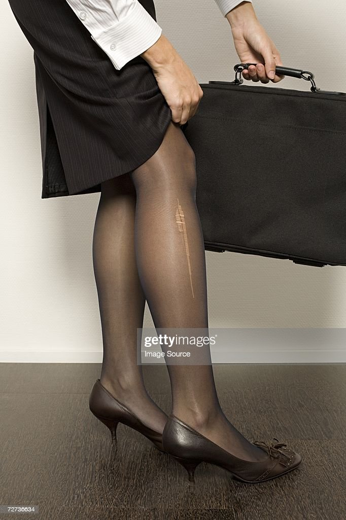 Ripped Pantyhose Also