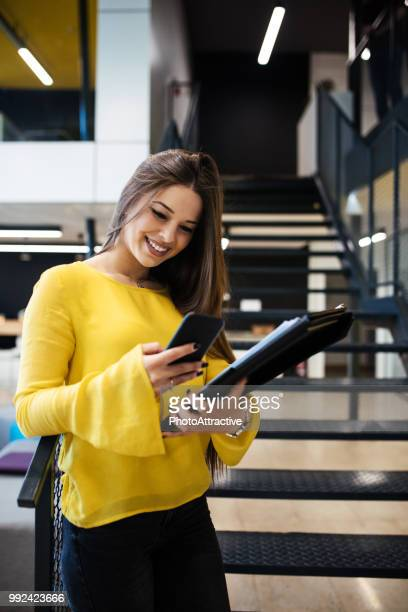 Businesswoman With Smart Phone