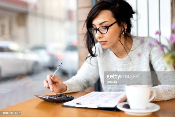 businesswoman working - chart stock pictures, royalty-free photos & images