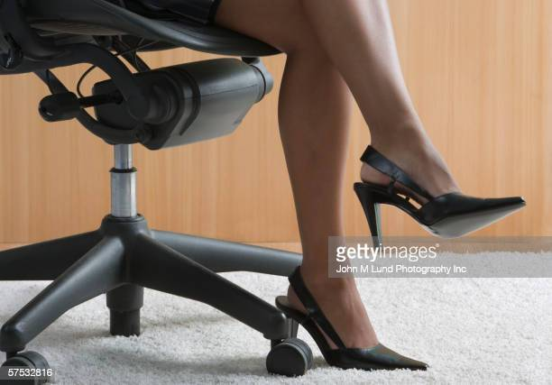 Businesswoman?s heels