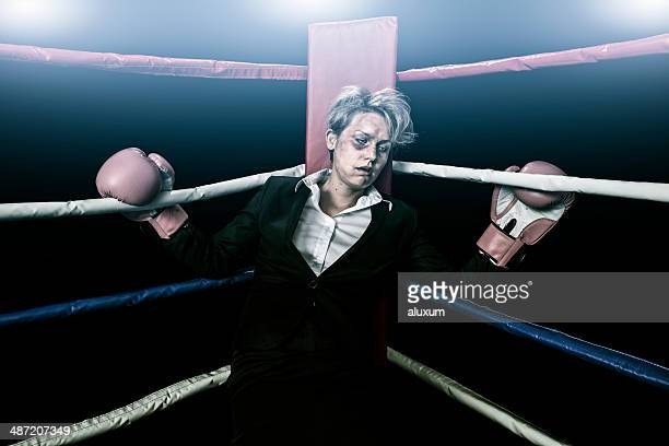 businesswomen beaten up - beaten up stock pictures, royalty-free photos & images