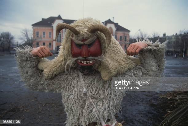 Buso mask Mohacs carnival Hungary