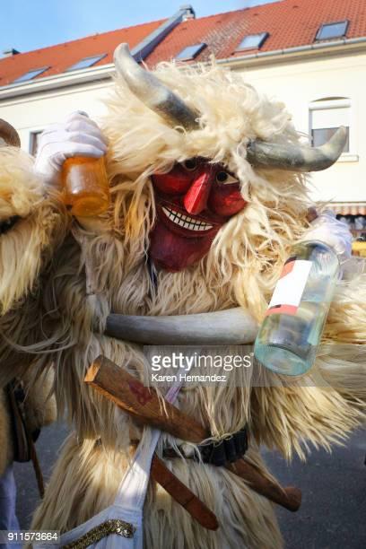 Busojaras Festival of Mohacs, Hungary