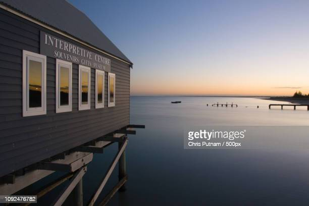 busselton jetty - chris putnam stock pictures, royalty-free photos & images