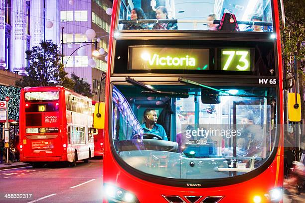 Busses in Oxford street