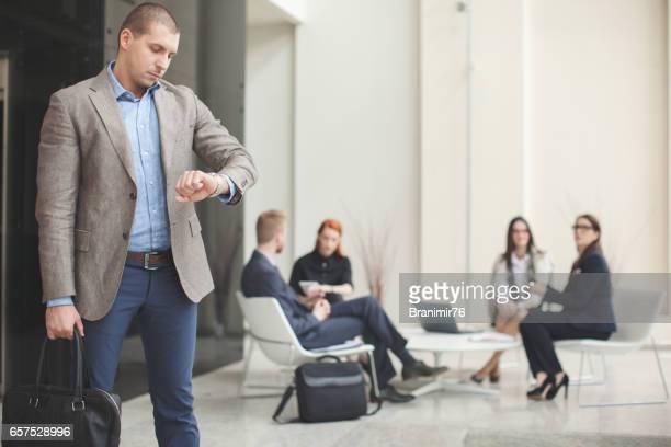 Bussines meeting - briefing