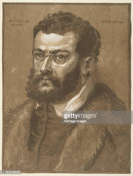 Bust of a Bearded Man 16321636 Among the finest chiaroscuros of the 17th century are those of Jegher a professional woodcutter who made prints after...
