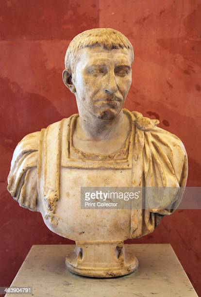 Bust of a Roman supposedly Domitius Corbulo first half of 1st century BC Gnaeus Domitius Corbulo was a Roman general He was the brotherinlaw of the...