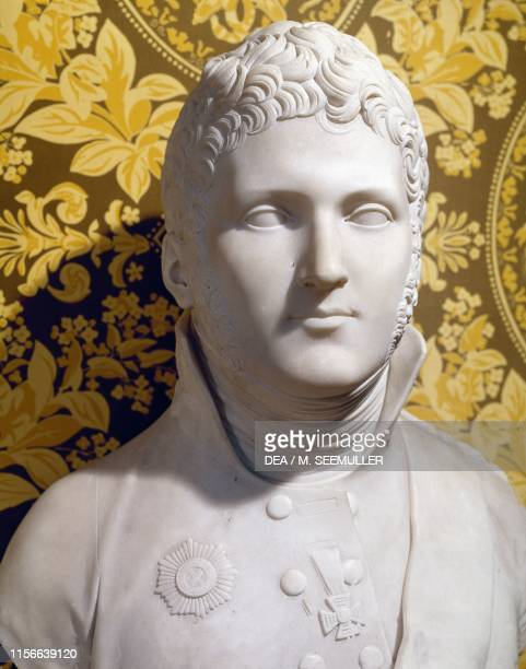 Bust of Alexander I Russian Tsar, by Lorenzo Bartolini , 19th century.