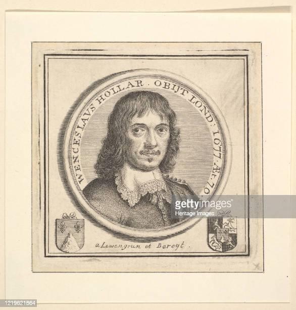 Bust of Hollar in a Circular Frame 1745 Artist George Vertue