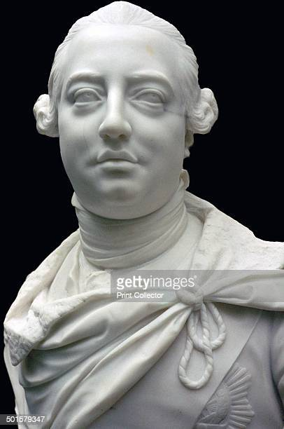 Bust of King George III 1767 During his reign Britain became the dominant power in Europe but lost it's American colonies and in his later life he...