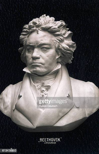 A bust of Ludwig Van Beethoven 17701827] the German composer born in Bonn