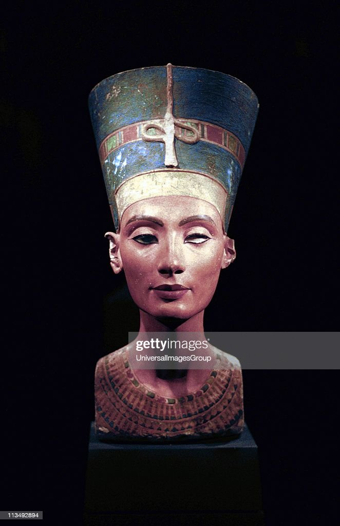 great royal wife of the egyptian pharaoh akhenaten