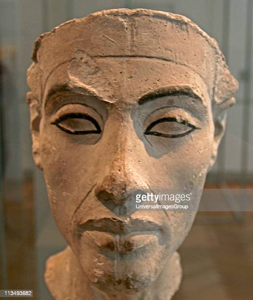 Bust of Nefertiti Great Royal Wife to the Egyptian Pharaoh Akhenaten Nefertiti and her husband were known for a religious revolution They started to...