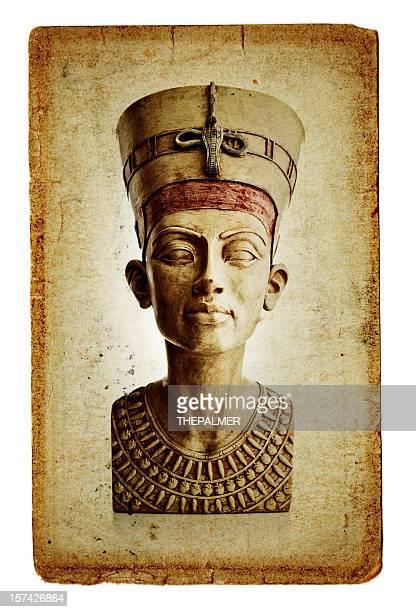 bust of nefertiti - nefertiti stock pictures, royalty-free photos & images