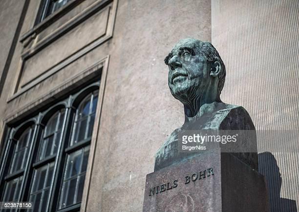 Bust of Niels Bohr , Copenhagen, Denmark