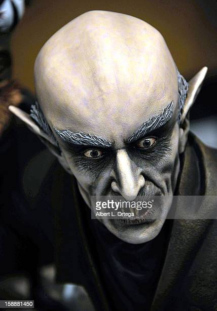 A bust of Nosferatu at Son Of Monsterpalooza held at Burbank Marriott Airport Hotel Convention Center on October 27 2012 in Burbank California