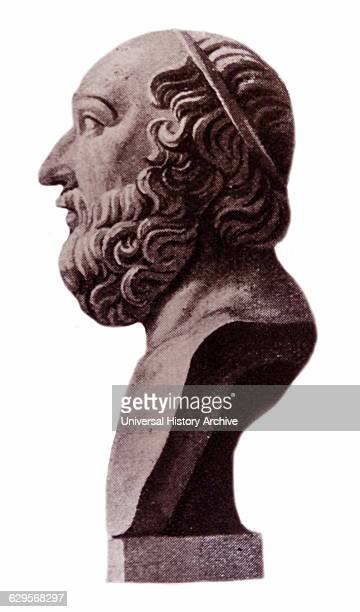 Bust of Plato a philosopher and mathematician in Classical Greece and the founder of the Academy in Athens