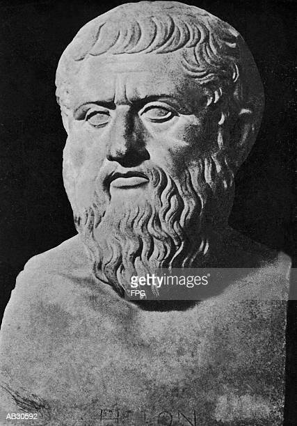 bust of plato - philosophy stock pictures, royalty-free photos & images