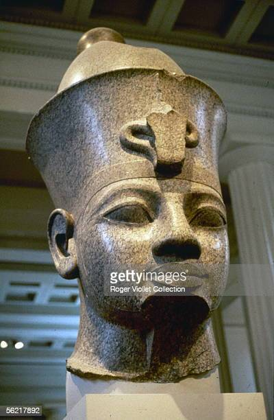 Bust of Ramses II London British museum
