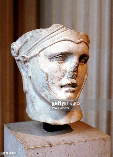 Bust of Seleucus I Nicator Macedonian general c4th3rd century BC Seleucus accompanied Alexander the Great on his conquests After the partition of...