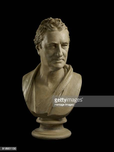 Bust of Sir Andrew Snape Hamond Bt 18181820 Model for an untraced marble bust Dimensions height x width x depth 625 x 32 x 16 cm
