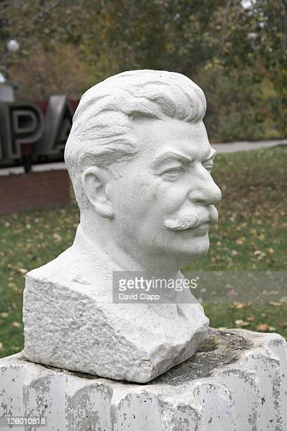 Bust of Stalin in the Sculpture Park, Moscow, Russia
