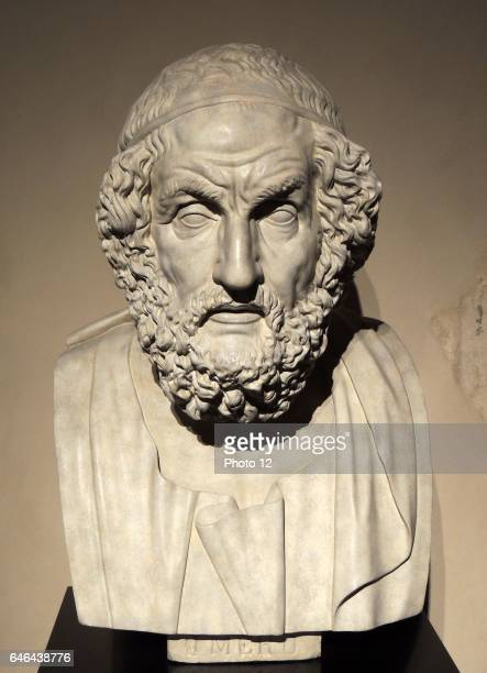 Bust of the blind poet Homer In the Western classical tradition Homer is the author of the Iliad and the Odyssey and is revered as the greatest...