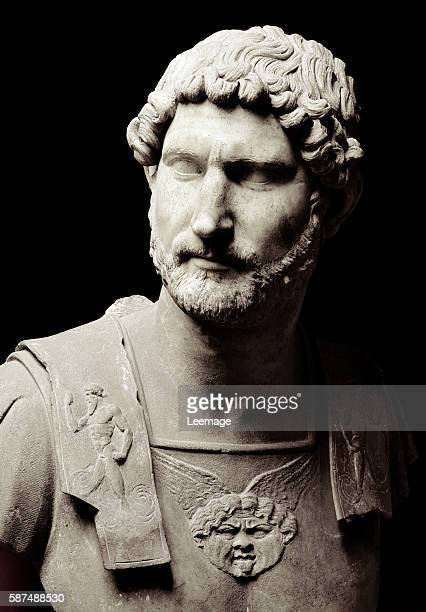 Bust of the Emperor Hadrian Marble sculpture Musei Capitolini Rome