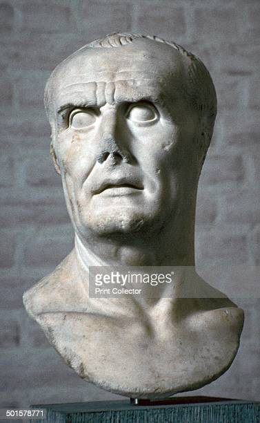 Bust of the Roman dictator Lucius Cornelius Sulla from the Glypotech in Munich 1st century