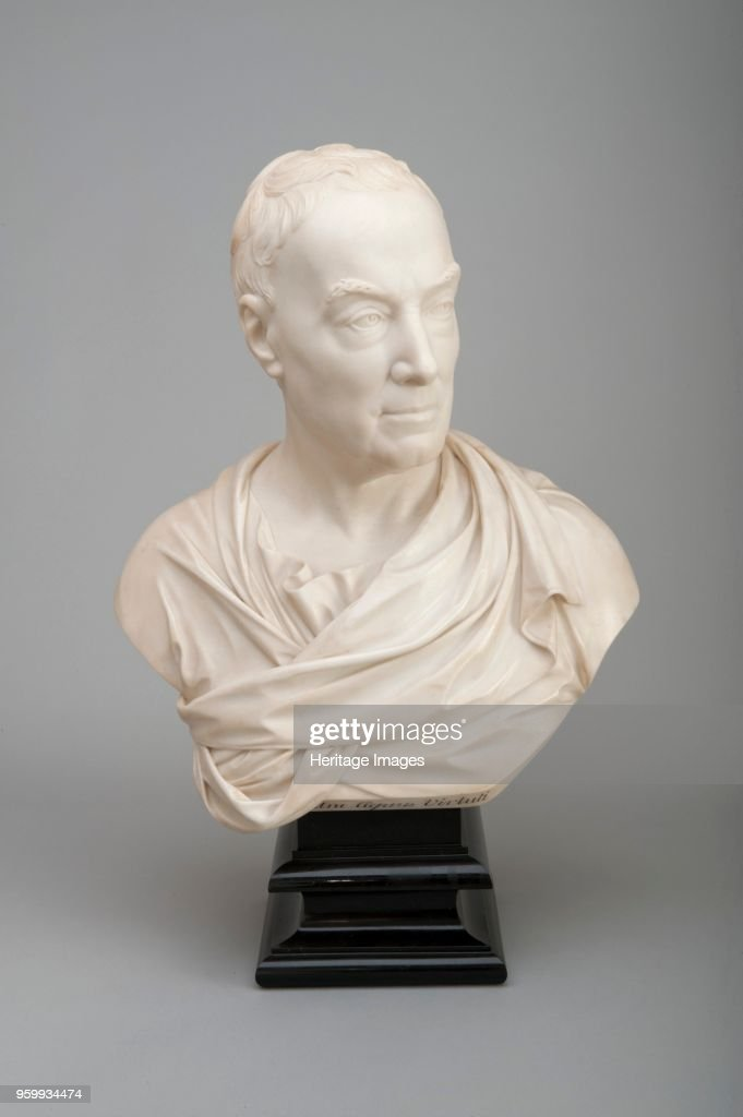 Bust Of William Murray : Fotografía de noticias