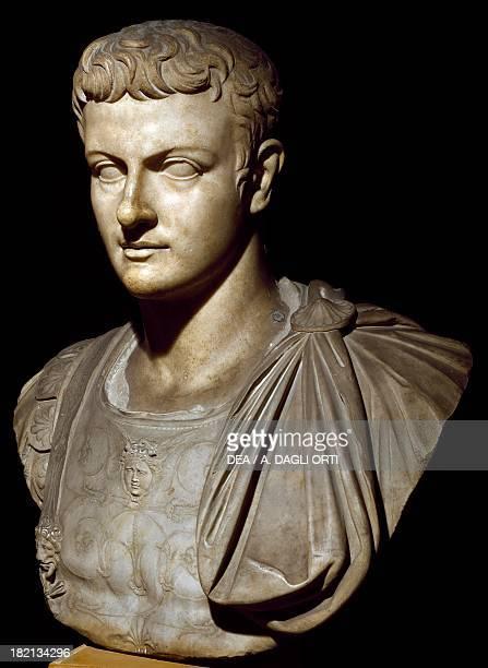 Bust of young Caligula Roman Civilisation 1st century Venice Museo Archeologico Nazionale