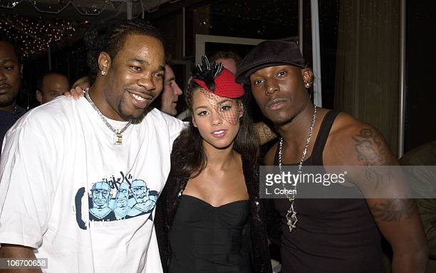 Busta Rhymes Alicia Keys Tyrese with a most glittering array of superstars and hot Hollywood stars gathered at the St Regis Hotel Presidential...