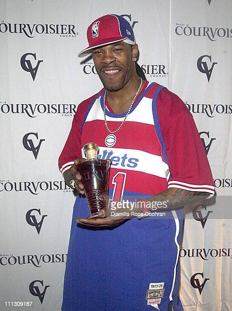 Busta Rhymes during Busta Rhymes Presented with $5000 Bottle of Courvoisier at Float in New York City New York United States