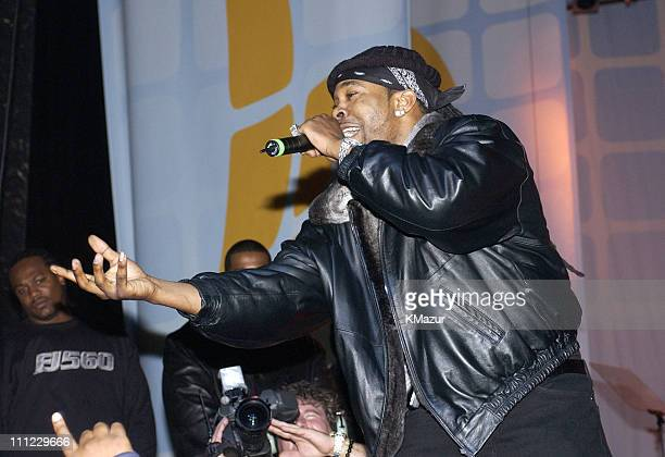 Busta Rhymes during LIFEBeat's Urban AID 2 Benefit Concert at Beacon Theater in New York City New York United States