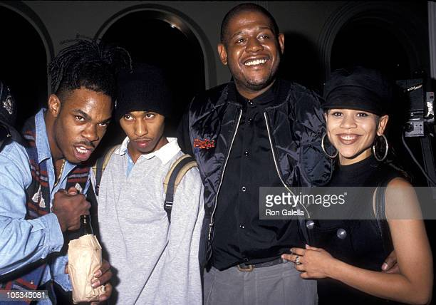 Busta Rhymes Fredro Starr of Onyx Forest Whitaker and Rosie Perez