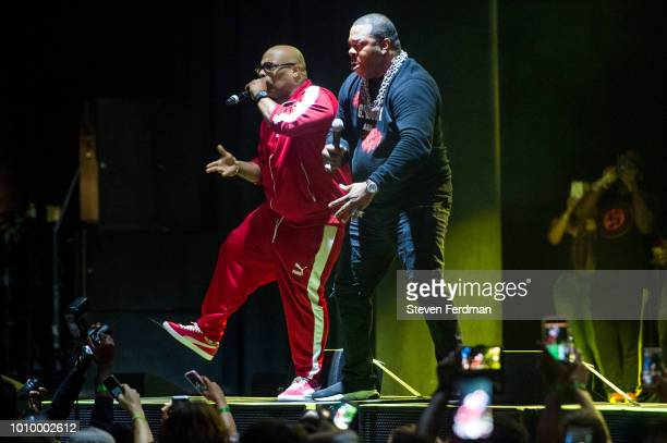 Busta Rhymes performs live on stage at the Ford Amphitheater at Coney Island Boardwalk on August 2 2018 in Brooklyn New York