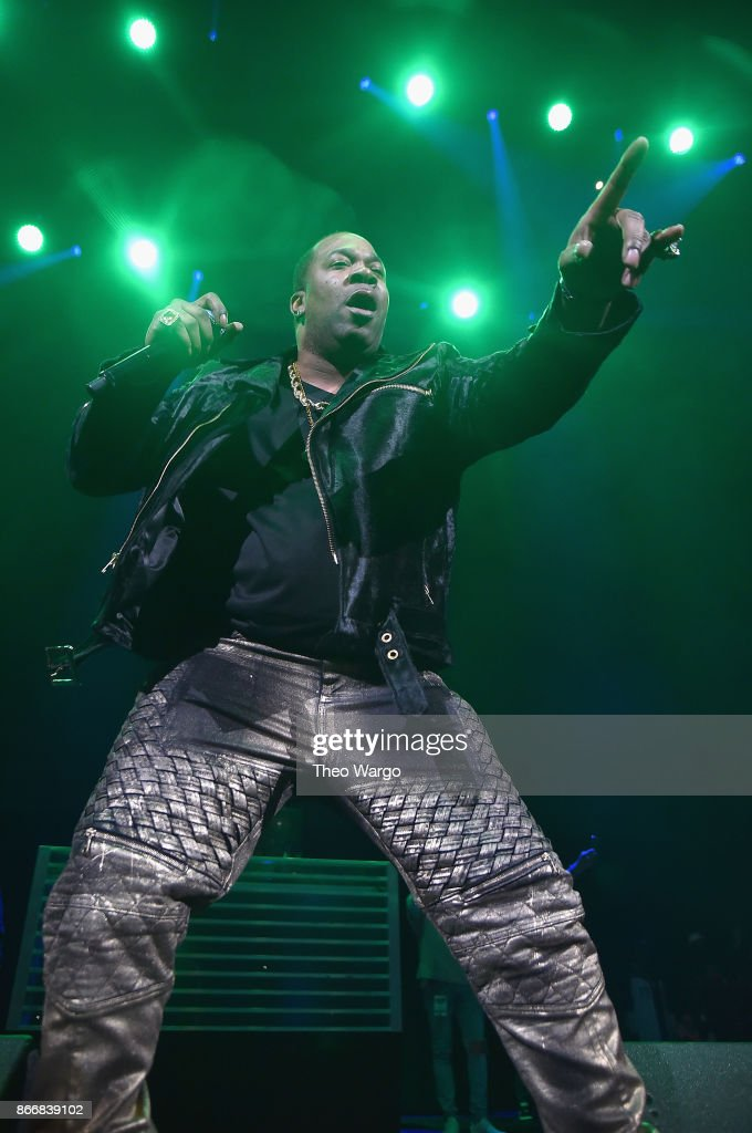 Busta Rhymes performs onstage during 105.1's Powerhouse 2017 at the Barclays Center on October 26, 2017 in the Brooklyn, New York City City.