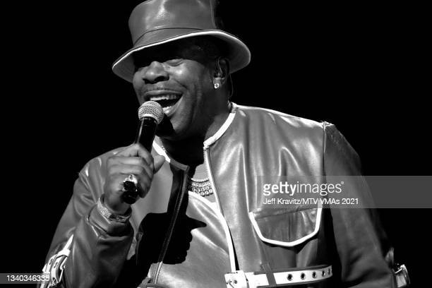 Busta Rhymes performs onstage during the 2021 MTV Video Music Awards at Barclays Center on September 12, 2021 in the Brooklyn borough of New York...