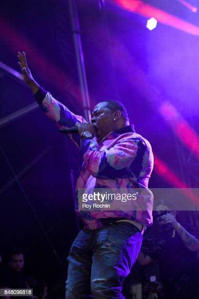 Busta Rhymes performs onstage during the Meadows Music And Arts Festival Day 2 at Citi Field on September 16 2017 in New York City