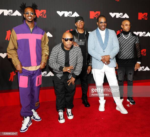 Busta Rhymes , Spliff Starr , and guests attend the 2021 MTV Video Music Awards at Barclays Center on September 12, 2021 in the Brooklyn borough of...